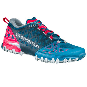 La Sportiva Bushido II Hardloopschoenen Dames, blauw